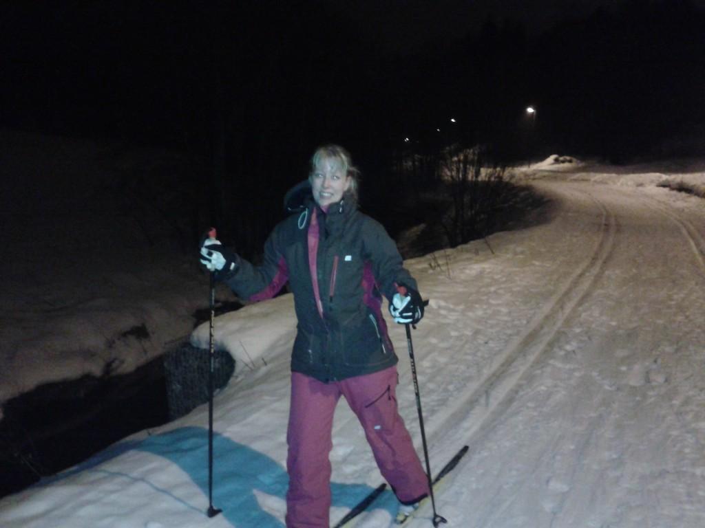 Sofie på ski