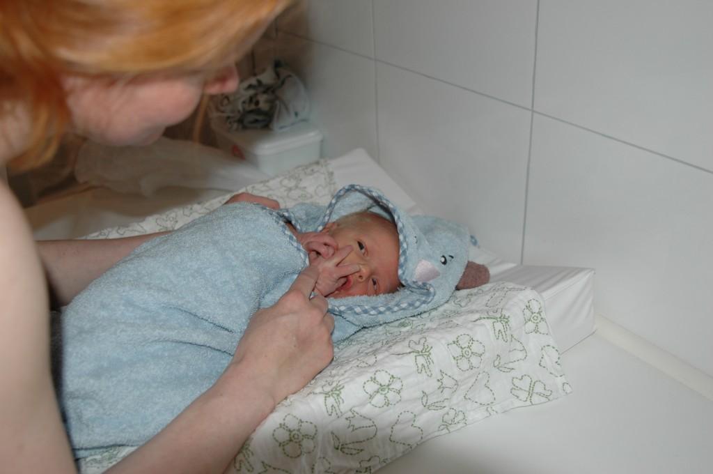 Første bad