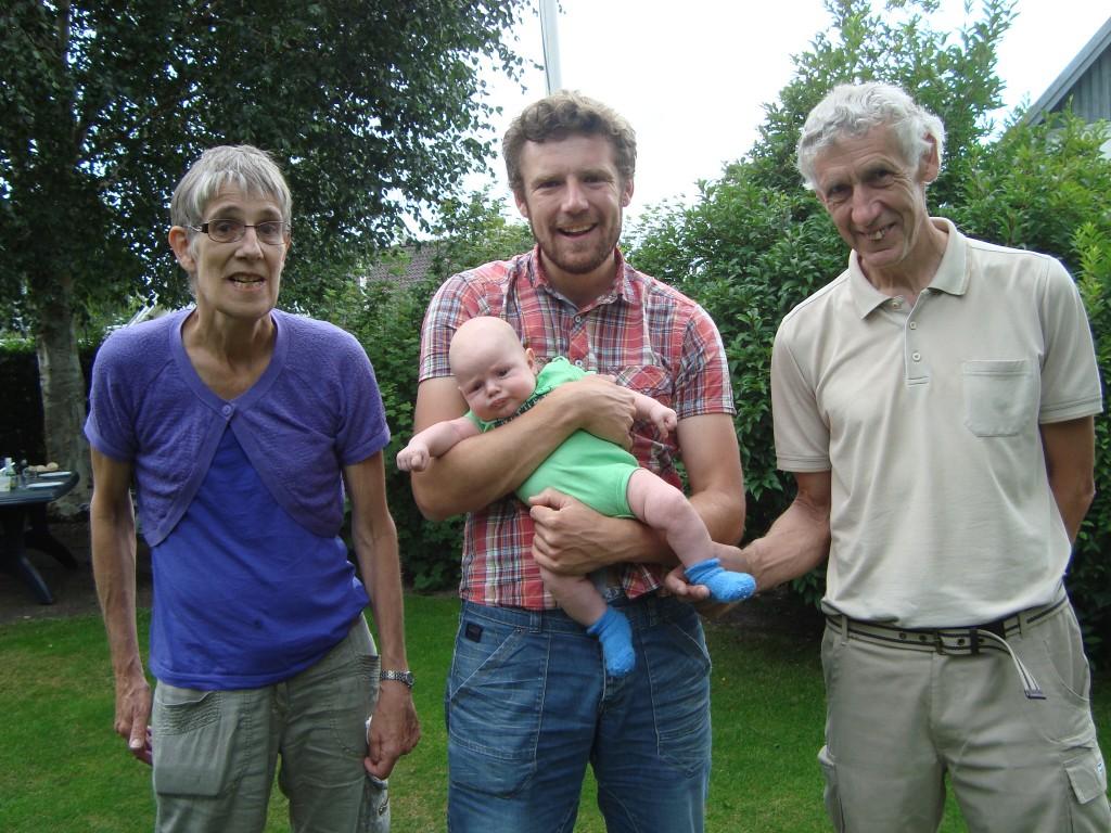 Gurli, Brian, Erik og Jens Peter