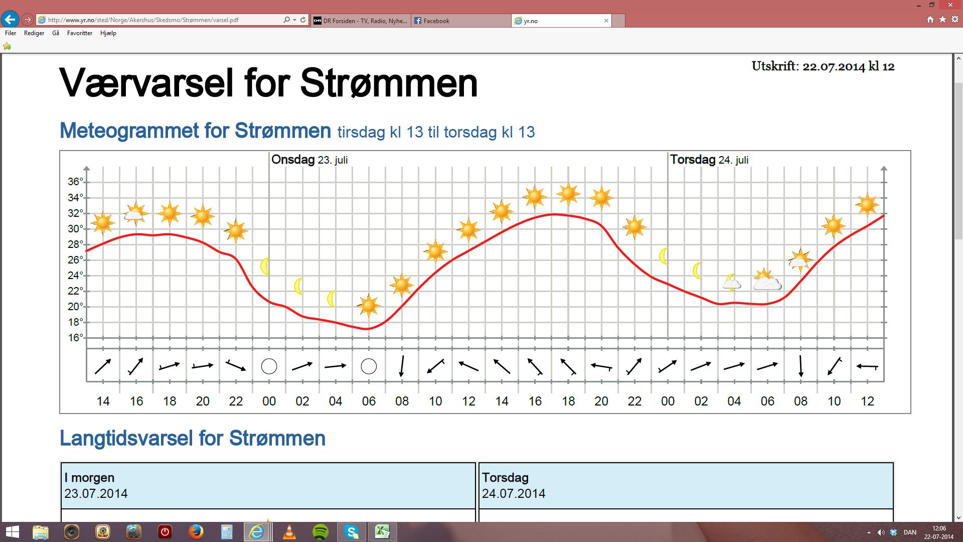 norsk vejr