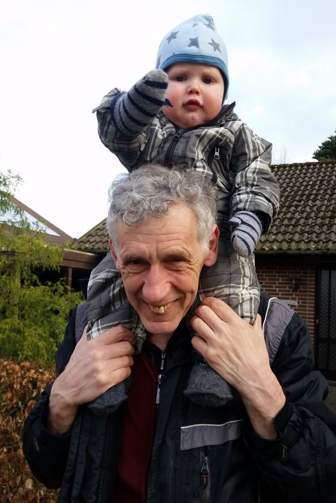 Erik og bedstefar